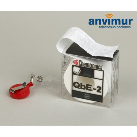 Plataforma de limpieza profesional de conectores de fibra optica QBE-2