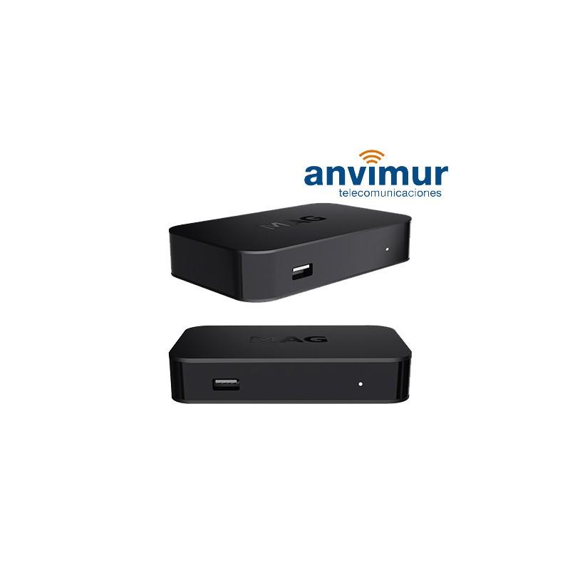 IPTV Set Top Box MAG322 - Anvimur Telecomunicaciones | + 30 años