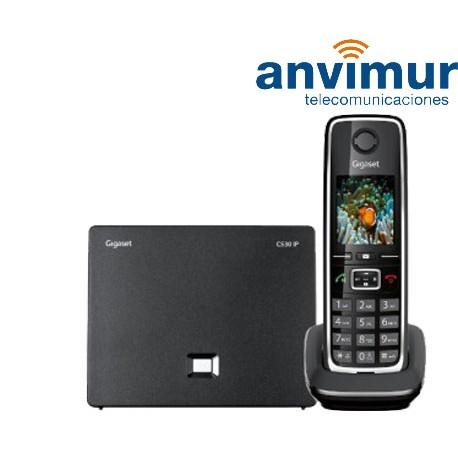 Teléfono Gigaset C530IP conexión analógica e IP