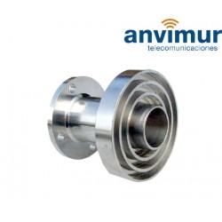 Circular waveguide for prime focus 2.4 m antennas.