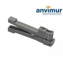 Pelador para tubos de fibra holgados hasta Ø3mm
