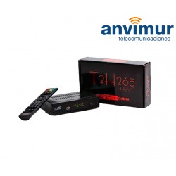 Qviart T2 H265 TDT receiver