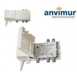 AMP. INTERIOR 47-790Mhz 20 dB SMA 207LTE