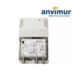 470-790Mhz 30dB INDOOR AMPLIFIER SMA 208LTE
