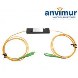 1550 nm rejection WDM filter, SC/APC