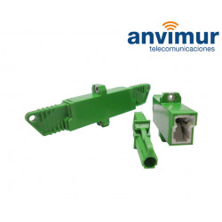 F/F Adaptor –E2000/APC Duplex
