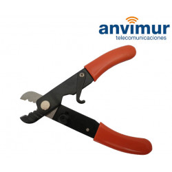 Peladora cable tres orificios Ø3mm, 900µm y 250µm | LM223H