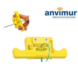 Herramienta para sangrado de tubos de fibra óptica   MILLER