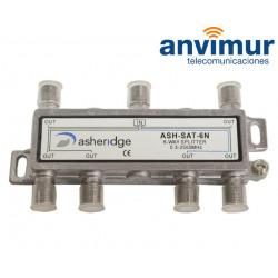 Repartidor HG 5-2400 MHz, 6 salidas
