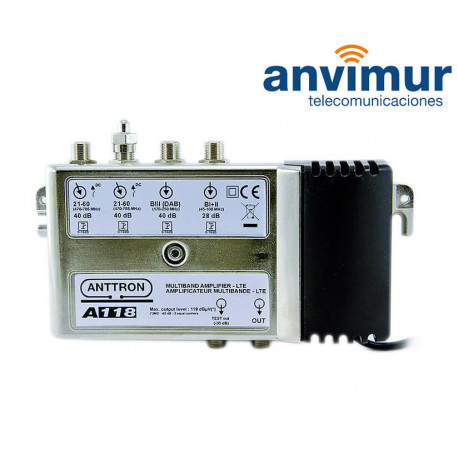 CENTRAL MULTIBANDA 40 dB ANTTRON