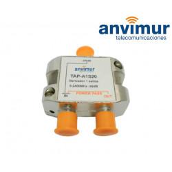 Derivador 5-2400Mhz 1 salida 20dB.