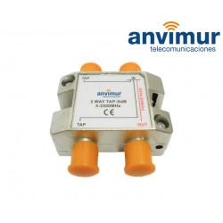 Derivador 5-2400Mhz 2 salidas 10dB.