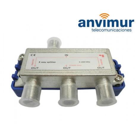Repartidor 5-1000Mhz 6 salidas Anvimur