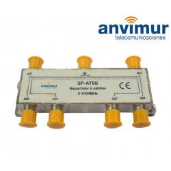 Splitter 5-1000Mhz 6 outputs Anvimur