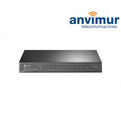 TP-LINK SWITCH TL-SG2210P 8 PORTS