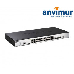 Switch Gigabit Dlink DGS-3120 24 puertos