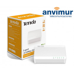 5-port Ethernet Switch S105 | TENDA