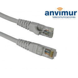 Conexión RJ45 UTP FLEXIBLE CAT6 0,50mts