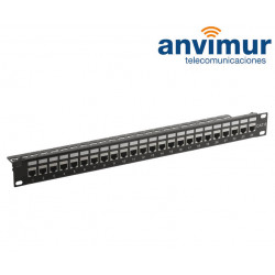 "PATCH PANEL 19"" CAT.6 24 RJ45H UTP"
