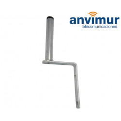 bracket support 25 mm tube