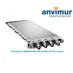 QUAD DVB-ASI Luminato receiver