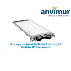 Receptor Dual DVB-S/S2 Luminato