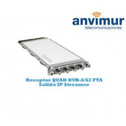 Receptor QUAD DVB-S/S2 Luminato