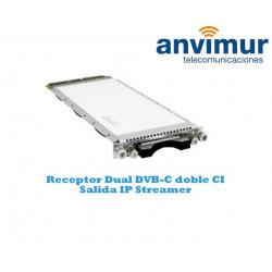Dual DVB-C Luminato receiver
