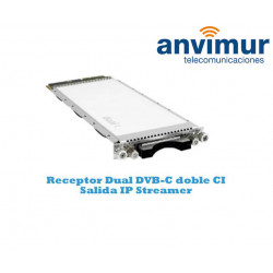 Receptor Dual DVB-C Luminato