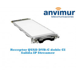 QUAD DVB-C Luminato Reciver