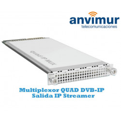 Multiplexor QUAD DVB-IP Luminato