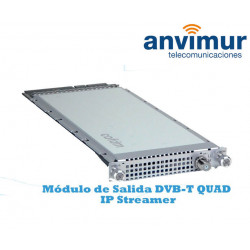 Multiplexor QUAD de salida DVB-T