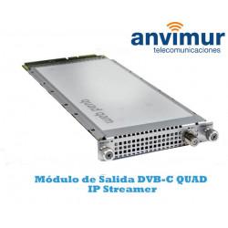 Multiplexor QUAD de salida DVB-C