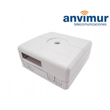 Anvimur 2/4 outputs Wall outlet for RISER cable