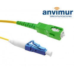 LC/UPC - SC/APC SM9/125 3M Ø 2mm fiber patch cord