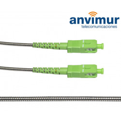 SC/APC - SC/APC SM9/125 1.5M Ø 2.8mm armored fiber patch cable