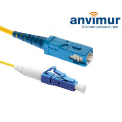 LC/UPC - SC/UPC SM9/125 1M Ø 2mm fiber patch cord