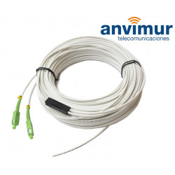 TWIN PATCH CORD FO SM9/125 2X60 meters with connector