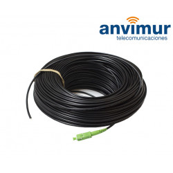 Outdoor Patch Cord 100m, 1 optic fibre G657.A2 - SM9/125