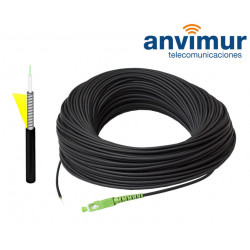 Outdoor Armored Patch Cord 60m, 1 optic fibre G657.A2 - SM9/125