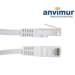 Conexión RJ45 UTP FLEXIBLE CAT6 25 mts