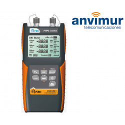 Low size optical power meter with WDM filter