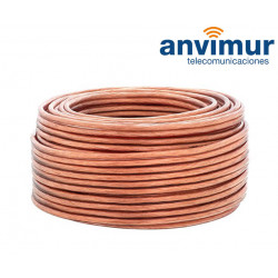 Cable Audio 100mts Libre Oxígeno 2 x 4 mm