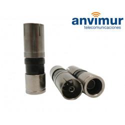 CONECTOR IECh COMPRESION 6.6mm PPC