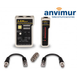 RJ11/RJ12/RJ45 and coaxial cable tester