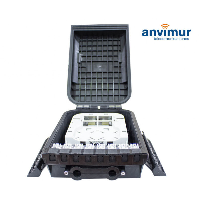 Vertical Enclosure for 2+16 Ports and 16 Fusions | Anvimur