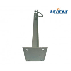 BOLTED WALL CLAMP 40 CM 4 SCREWS