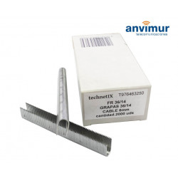 STAPLES BOX FOR RAPID 36 14MM 2000U.