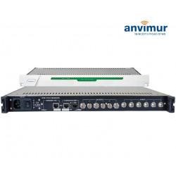 Receptor con Seis Tuner DVB-T/T2/C FTA Salida ASI e IP simultaneas