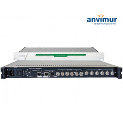 SIX inputs DVB-T/T2/C Receiver FTA, ASI output and IP outputs